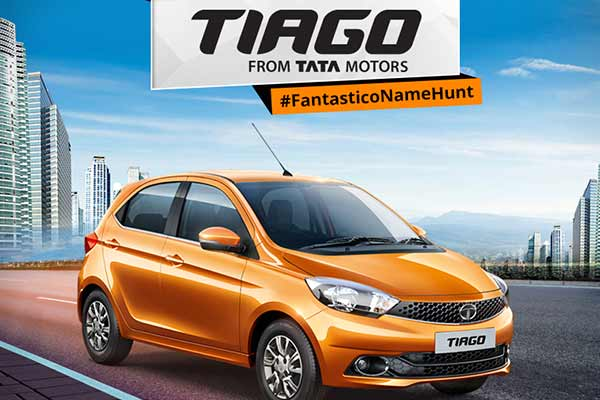 Tata Motors announces the new name of its exciting, dynamic hatchback- TIAGO