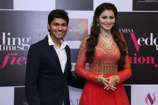 Chandukaka Saraf and Sons Pvt. Ltd showcases their Etherea collection at Wedding Times Fashion Fiesta