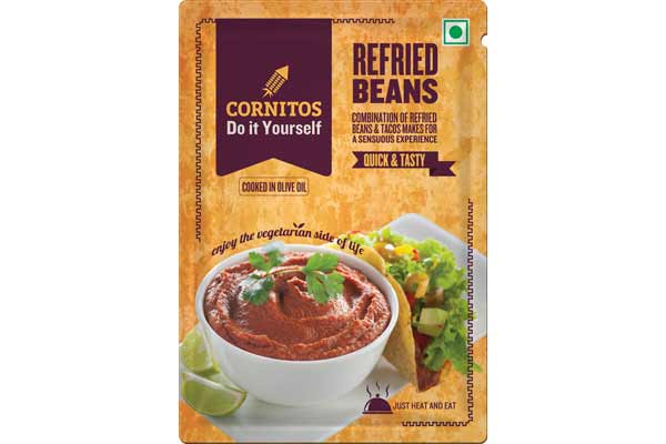 Cornitos launches the most versatile product Refried Beans under the Mexican category