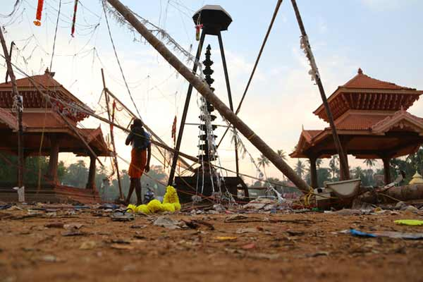 Kerala temple firework tragedy: Toll rises to 109, six booked; at least 100 kg explosives seized