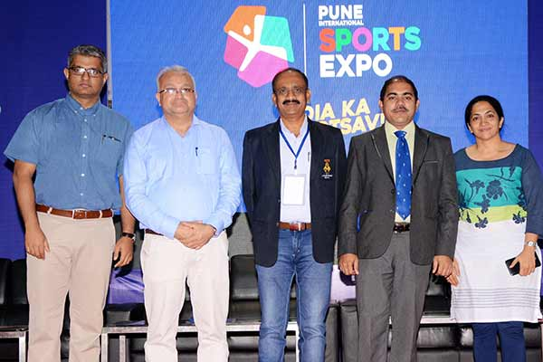 A Sports Seminar at Pune International Sports Expo