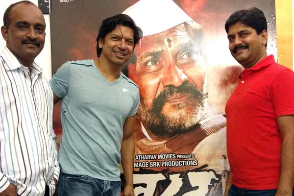 Shaan came to see private screening of Marathi film Barad