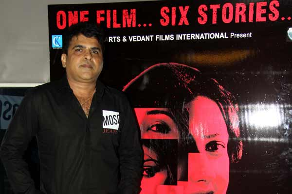 Producer Director Chandrakant Singh celebrated his birthday with teaser launch of his film Six X at Andheri