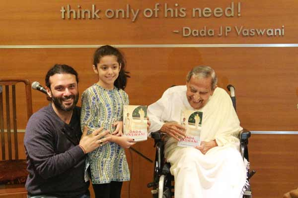Book launch - 'Conversations with Dada Vaswani – A Perfect Disciple, A Reluctant Master'