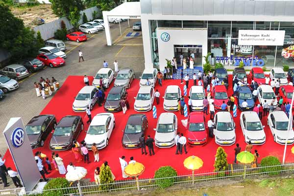 Volkswagen India marks record delivery in the state of Kerala on the first day of Chingam