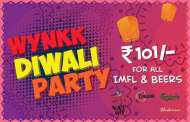 Head for the Diwali party at Wynkk -The Lounge