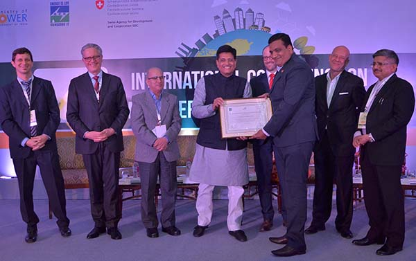 Avantika University was felicitated with a certificate from Indo-Swiss Building Energy Efficiency Project (BEEP) .