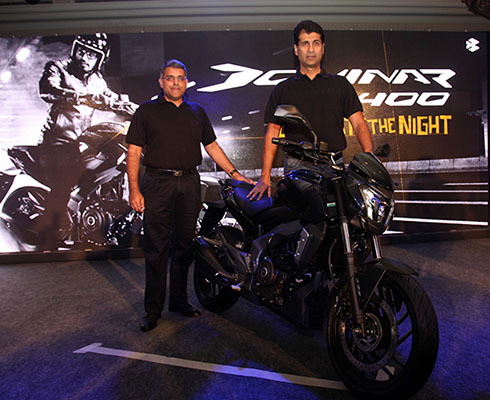 Bajaj Auto launches the first bike in the Dominar range