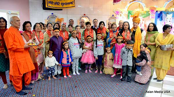 Hari Om Mandir Rings in the New Year with Devotees Achievement awards