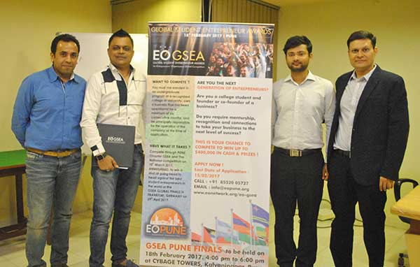 EO Pune Host a Local Competition for the Global Student Entrepreneur Awards