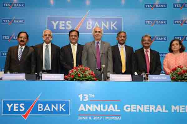 13th YES BANK AGM: Shareholders fully support all Resolutions proposed by the Board of Directors of YES BANK
