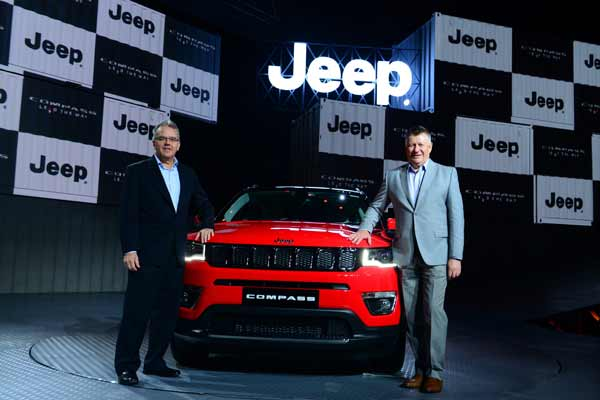 Made-in-India Jeep® Compass Launched at INR 14.95 lakh