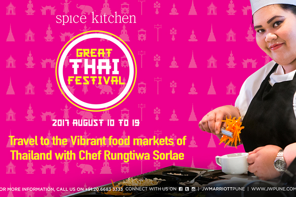 The Great Thai Festival visits Spice Kitchen at the JW Marriott Pune