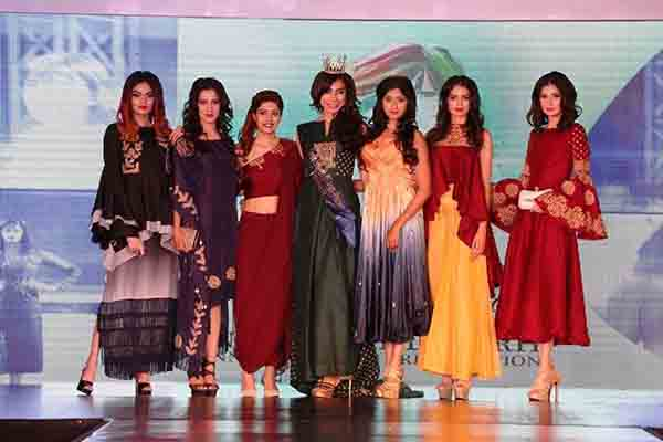 ELFA Girls from Pune Shine at Chandigarh at INIFD Fashion Day Out 2017