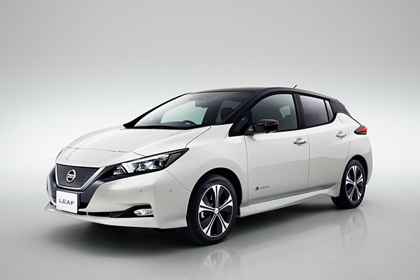 The new Nissan LEAF: embodying Nissan Intelligent Mobility