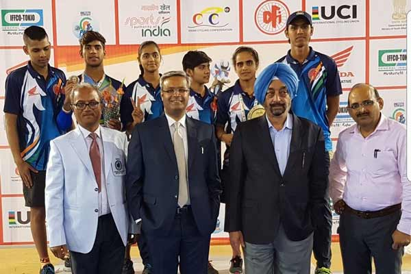 Maharashtra Riders Outshine At Track Asia Cycling Championship 2017