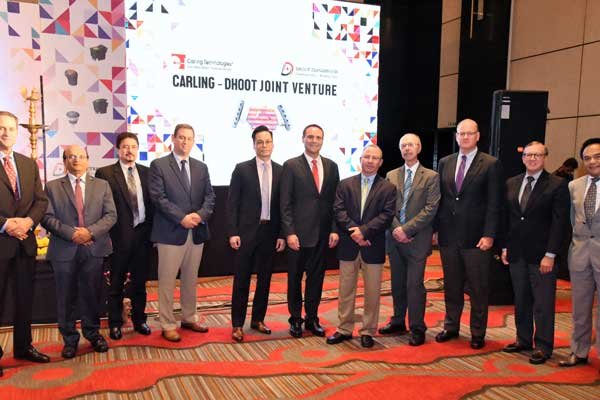 Dhoot Transmission signs JV with Carling Technologies