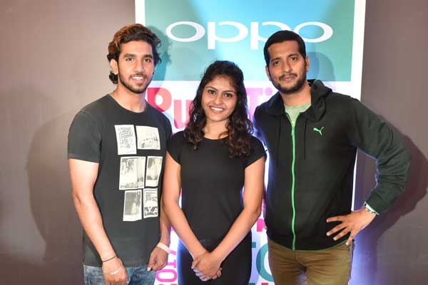 Aditya Durve & Mayuri Bhosle win big at the 10th edition of the OPPO Times Fresh Face in the Pune Open Audition event