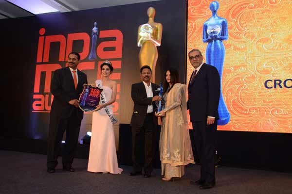 Crowne Plaza, Mayur Vihar named The Best Business Hotel at India MICE Awards 2017