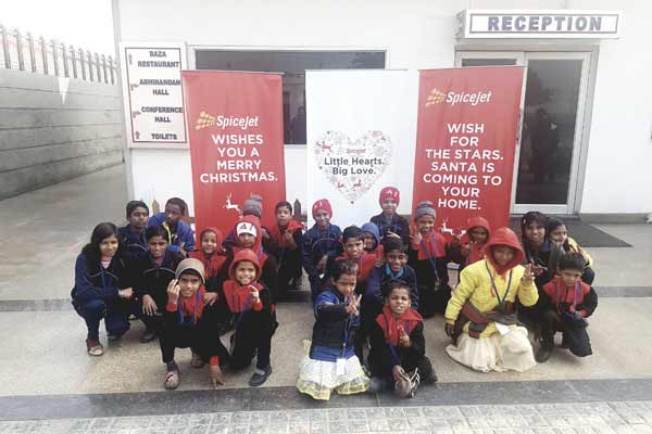 This Christmas, SpiceJet turns Santa for orphanage kids