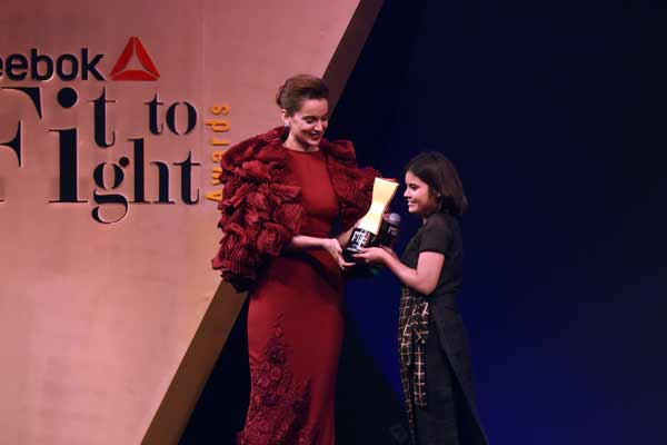 Reebok celebrates Women Strength and Spirit at the #FitToFightAwards 2.0
