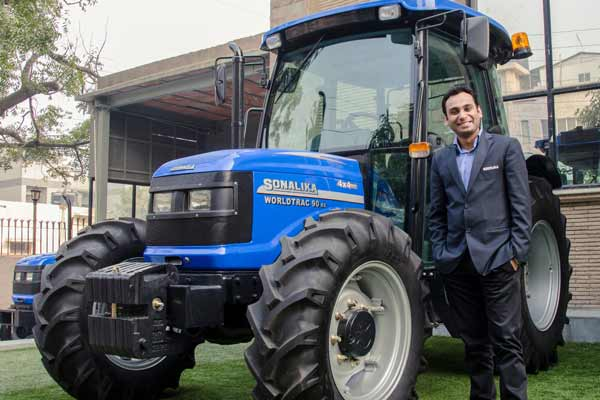 Sonalika Tractors achieves its vision of selling 1 Lakh tractors in FY'18