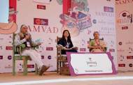 Crowds throng Diggi Palace on the fourth day of the ZEE Jaipur Literature Festival 2018
