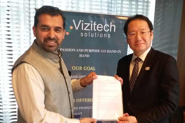 Japanese Firm Chaintope and Vizitech Solutions Launch a Blockchain R&D Center in Pune