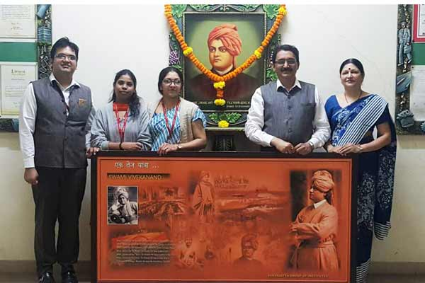 Suryadatta Group of Institutes celebrated National Youth Day on the auspicious occasion of 155th Swami Vivekananda Jayanti