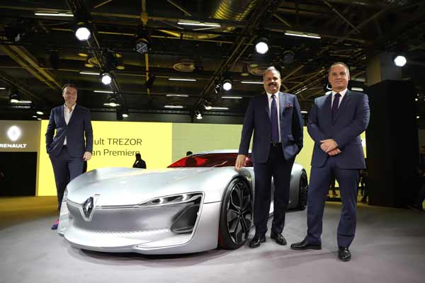 RENAULT SHOWCASES ITS GLOBAL PROWESS AT AUTO EXPO 2018