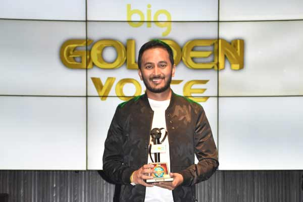 BIG FM ANNOUNCES BENADRYL BIG GOLDEN VOICE SEASON 5 WINNER