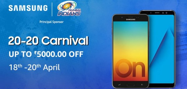 Samsung India Announces Samsung 20-20 Carnival on Amazon.in