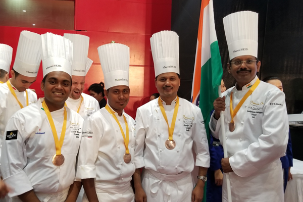 India wins 'Special Plate Prize' at the Chef Olympics in China