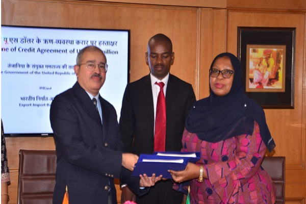 EXIM BANK, ON BEHALF OF THE GOVERNMENT OF INDIA, EXTENDS A LINE OF CREDIT [LOC] OF USD 500 MILLION TO THE UNITED REPUBLIC OF TANZANIA