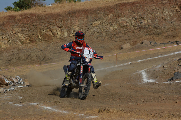 TVS Racing leads in the 2nd Round of Indian National Rally Championship
