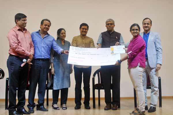 ​Award in memory of Architect Nandini Sapre presented