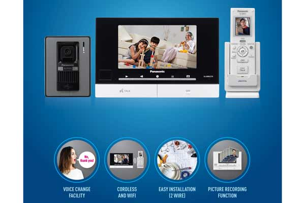 Panasonic surges ahead in home security – introduces brand new wireless VIDEO DOOR PHONE
