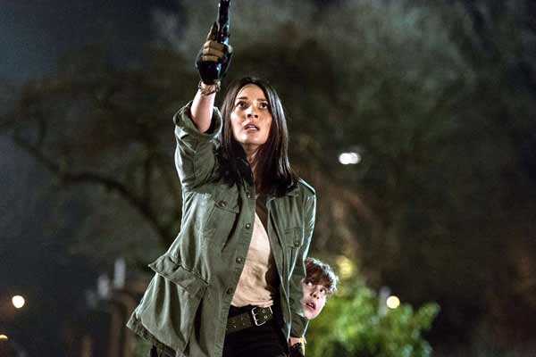 Interview of Olivia Munn,Lead Actress of 'The Predator'