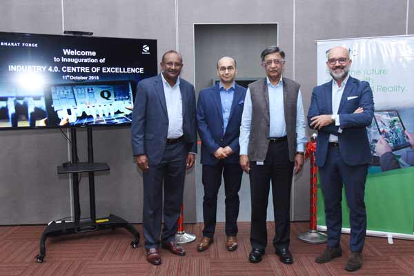 "Bharat Forge Inaugurates ""Industry 4.0 Centre of Excellence"" in partnership with PTC"