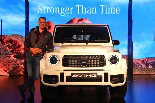 Mercedes-Benz India launches the iconic performance off-roader that has remained stronger than time - the AMG G 63