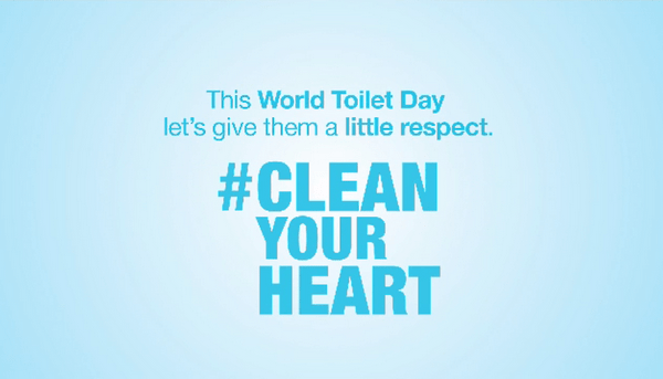 Roca & We Are Water Foundation launch #CleanYourHeart Campaign on World Toilet Day