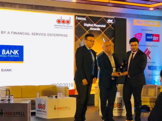 Federal Bank Wins Award for Best Use of Block Chain Technology