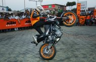 KTM'S Spectacular Stunt Show in Chakan