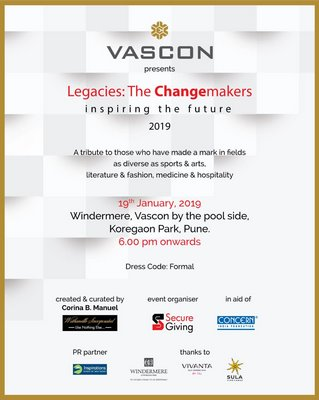 Legacies: The Changemakers of Pune to be honored