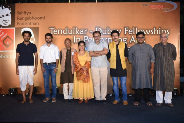 Five young theatre artists awarded with Tendulkar-Dubey Memorial Fellowship