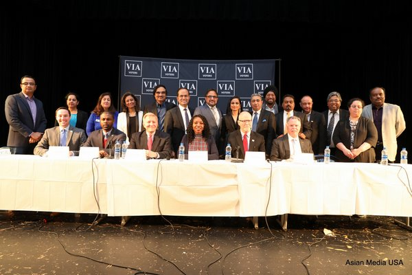 The Voice of Indian-American Voters OrganizesChicago Mayoral Candidates for Indian-American Community