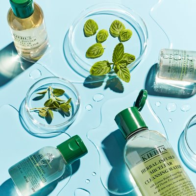 SAY GOODBYE TO RINSING, RUBBING AND SCRUBBING WITH KIEHL'S NEW 99.8% NATURALLY DERIVED MICELLAR WATER