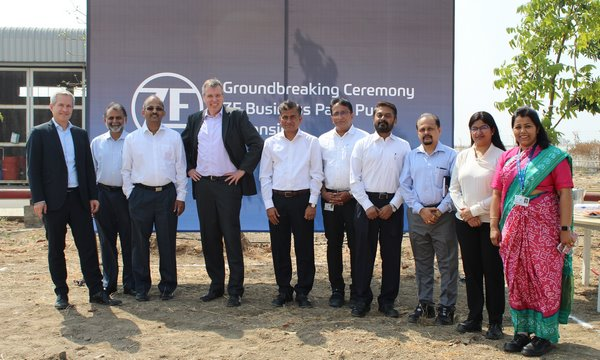 Groundbreaking For ZF Pune Plant Extension