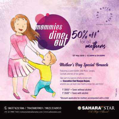 Celebrate this Mother's Day with a pampering brunch at Hotel Sahara Star