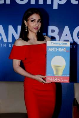 CROMPTON ALONG WITH SOHA ALI KHAN LAUNCHES FUTURISTIC ANTI-BAC LED BULB WITH ENVIROSAFE TECHNOLOGY
